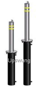 upswung manually retractable bollards